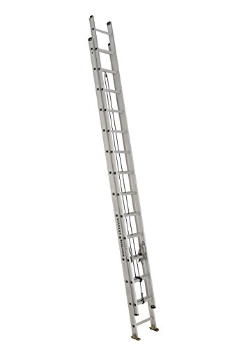 Stanley FatMax SXL2120-28 Aluminum Extension Ladder, 28-Foot, 250-Pound Load Capacity