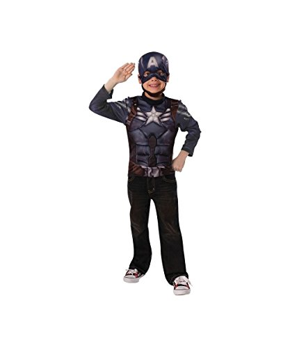 Captain America Stealth Suit Costume - Small]()