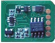 - Universal Brand: Toner Chip for Xante Ilumina 502 (Cyan Color)