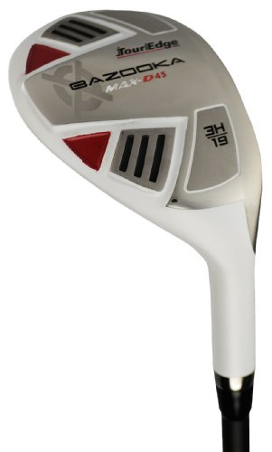Tour Edge Men's Max D-45 2X6 Combo Hybrid Golf Club, Regular Flex, Graphite Hybrids and Steel Irons, Right Hand