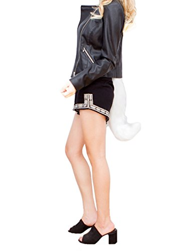 DRESHOW Faux Fur Fox Tail Costume Halloween Cosplay (Tails The Fox Costume For Halloween)