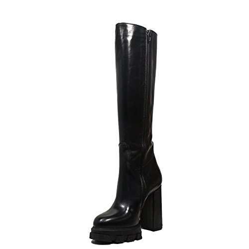 LK16 2017 black new 2018 winter with boot IMPICCI heel autumn high collection fdRqfx