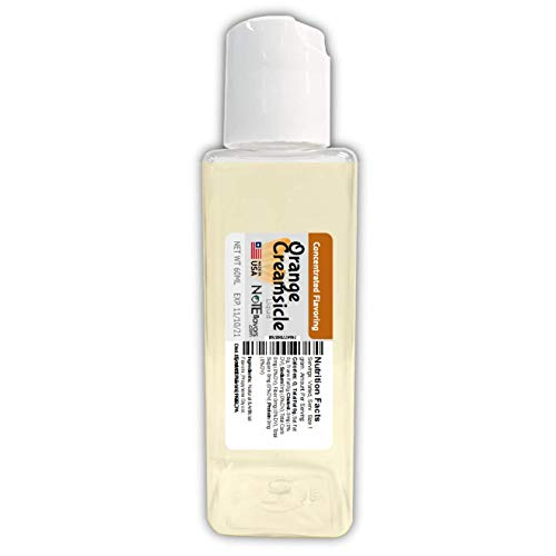 (NoTE Flavors Liquid Orange Creamsicle - 10-120mL Food Grade Concentrated Flavoring)