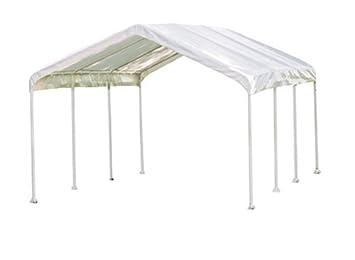 ShelterLogic 10 x 20 1-3/8u0026quot; 8-Leg Canopy White  sc 1 st  Amazon.com & Amazon.com: ShelterLogic 10 x 20 1-3/8