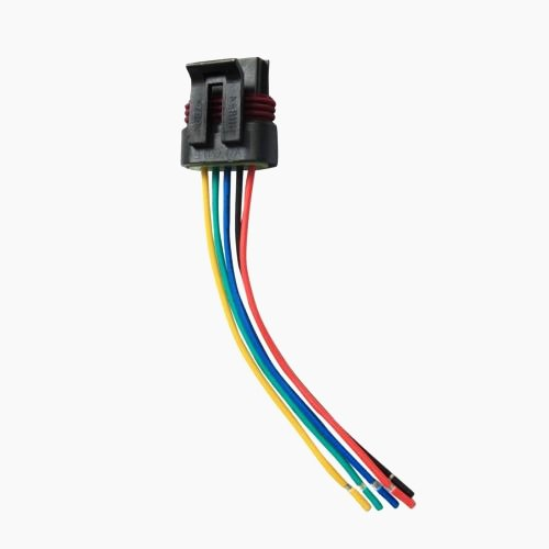 Amazon.com: 5 Wire MAF M Air Flow Sensor Pigtail Wiring ... on