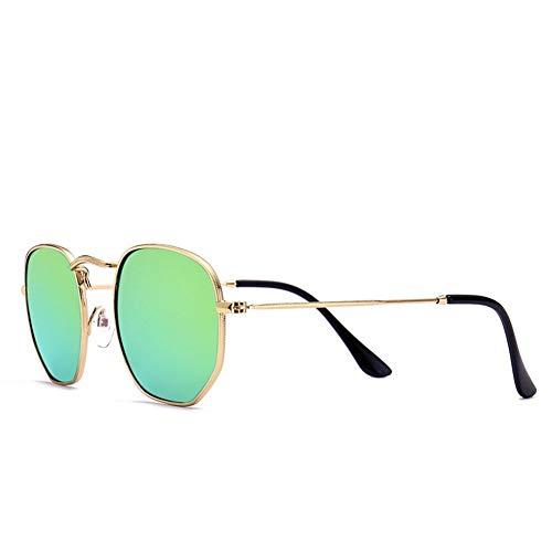 44mm soleil de 145 NIFG 135 B métal Lunettes mode polygone soleil de en de colorées rétro lunettes de raaEn5RZ