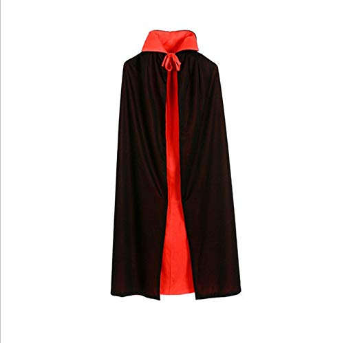 Play Halloween Hangman (YYH Halloween Cloak Double Faced Witch Party Reversible Hooded Vampire Cloak Unisex (Size : Without hat 0.9)