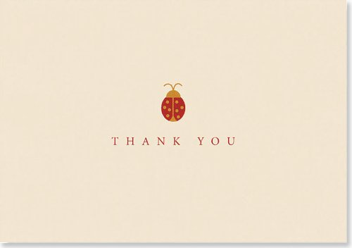 - Ladybug Thank You Notes (Note Card Series)