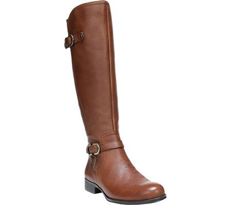 Naturalizer Womens Jennings Wide Calf Tall Boot Banana Bread Cairo Us 6 5 M