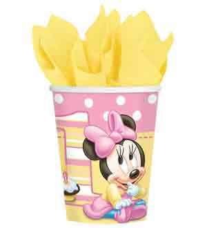 Minnie 1St Birthday Cup 9oz 8ct [Contains 6 Manufacturer Retail Unit(s) Per Amazon Combined Package Sales Unit] - SKU# 581139