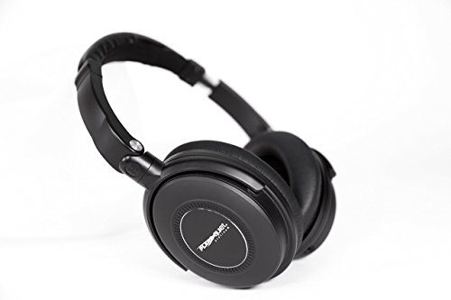 NEW! Plane Quiet Platinum Active Noise Canceling Over Ear Headphones black