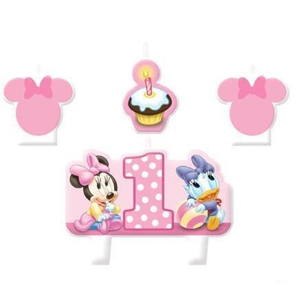 Amazon.com: Disney Baby Minnie Fiesta 1er Cumpleaños Favors ...