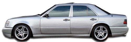 1986-1995 Mercedes E Class W124 2DR Duraflex C43 Look Side Skirts Rocker Panels - 2 Piece (Overstock) (Look C43 Kit Body)