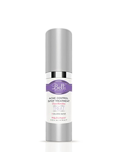 Belli Acne Control Spot Treatment  Clears Blemishes and Helps Prevent New Breakouts  OB/GYN and Dermatologist Recommended  0.5 oz