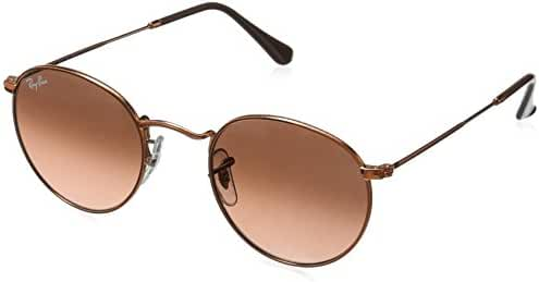 Ray-Ban Unisex-Adult Round Metal 0RB3447 Round Sunglasses