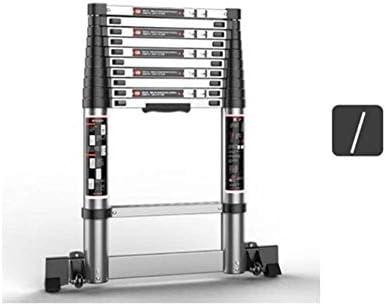 ZDTZ/L Escaleras Escalera Plegable Inicio Telescópico Ingeniería de Subida y caída Escalera Recta portátil Escalera de Aluminio (Size : 3.2m): Amazon.es: Hogar