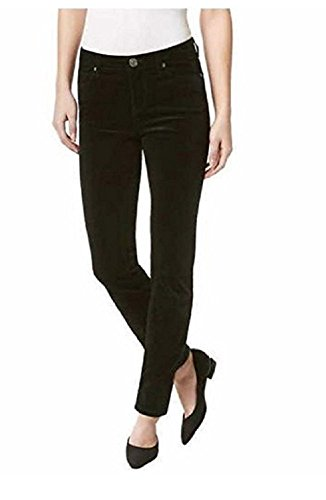 Womens Mid Rise Skinny Stretch Supreme Corduroy Pants (4/27) ()