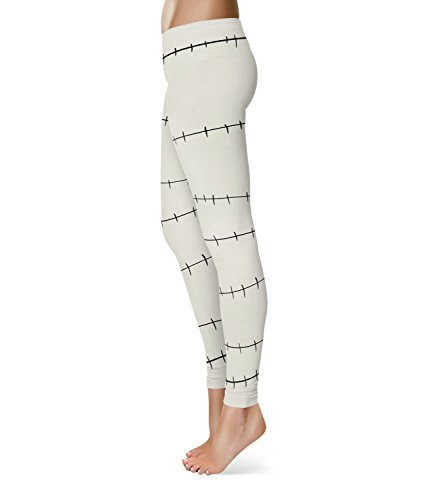 Queen of Cases - Legging de sport - Femme blanc blanc taille unique