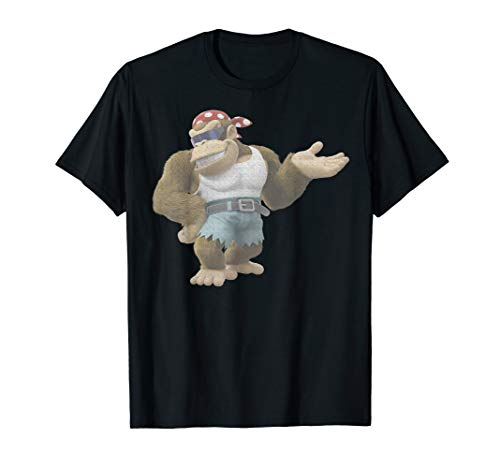 Nintendo Donkey Kong Country Funky Kong Simple T-Shirt (Donkey Kong Country 2 Rom Snes Espanol)