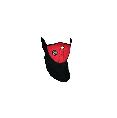 Neoprene Bicycle Motorcycle Snowboard Ski Cycling Half Face Mask with a Cutout for Nose Breathing Neck Warmer Outdoor Sports Mask for Adults Men Women by TheBigThumb