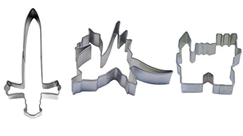 Medieval Cookie Cutter Set - Castle 3