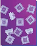 SEOH Cuvette Cap LDPE 10mm Pathway Pack of 100