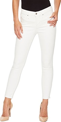 White Levi Jeans (Levi's Women's 311 Shaping Ankle Skinny Jeans, White Sateen, 29 (US 8))