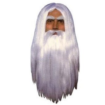 Gandalf Wig and Beard Set Costume Accessory
