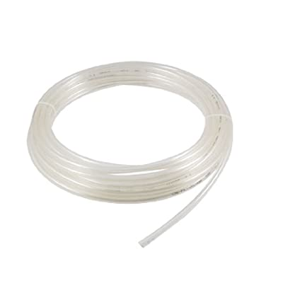 Clear 10M 8mm OD 5mm ID 1.5mm Wall Thickness PU Air Hose Pipe Tube