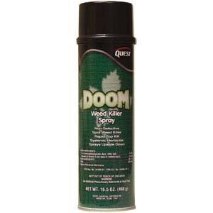 Quest Chemical 452 Doom Weed Killer Spray, 20oz,12/Cs