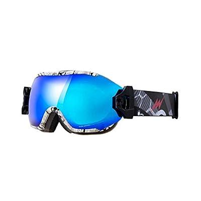 He-yanjing Ski Goggles,Double Lens, Anti-Fog Snow,UV Protection,Snowboarding Goggle,Professional ski Glasses,Multi-Purpose ski Glasses