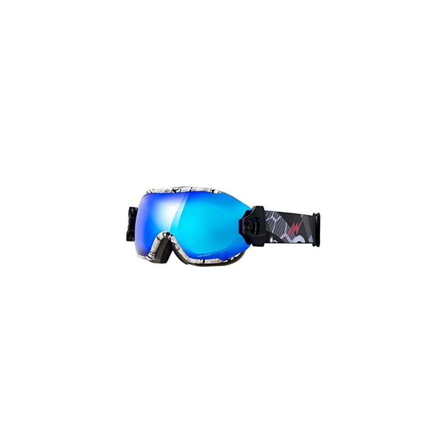 He yanjing Ski Goggles,Double Lens, Anti Fog Snow,UV Protection,Snowboarding Goggle,Professional ski Glasses,Multi Purpose ski Glasses