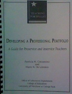Developing a professional portfolio: A guide for preservice and inservice teachers