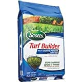 The Scotts Co.: 15M Turf Builder + Halts 31115 2Pk