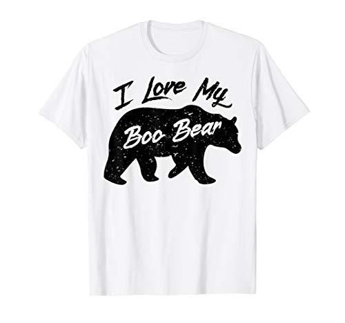 Boo Bear Shirt | Polar Bear Spirit Bear Valentine Apparel