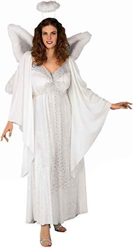 Forum Plus-Size Angel Costume, White, X-Large -