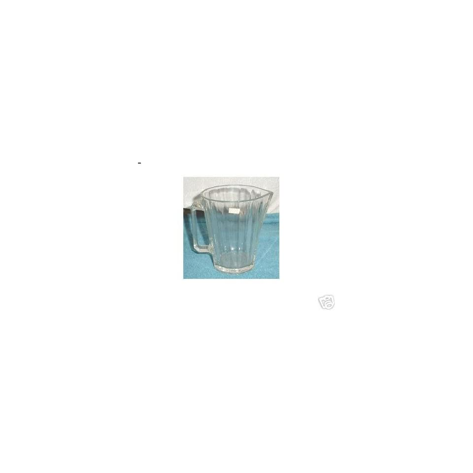 Crystal Glass Water Pitcher