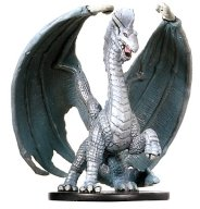 D & D Minis: Large Silver Dragon # 5 - Archfiends