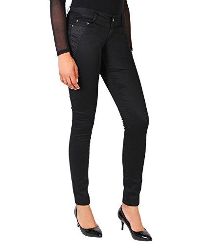 krisp damen schlichte jeans hosen slim fit stretch american streetwear stylische streetwear mehr. Black Bedroom Furniture Sets. Home Design Ideas