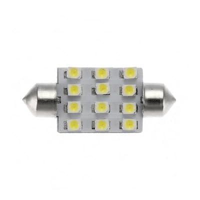 Bheema 12 cms 1210 voiture LED feston dôme stationnement intérieur lampe de lumière de queue
