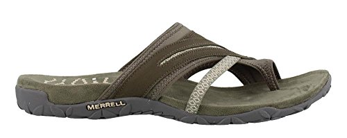 Merrell Terran Post II Womens Sandals 8 B(M) US Women Dusty Olive by Merrell