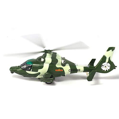 HSOMID 군사 헬리콥터 장난감 조명과 소리 아이들을위한 육군 비행기 어린이 소년 소녀