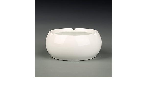 ... poesía cenicero blanco y negro de moda de la personalidad creativa Continental antiguos cerámica china grandes a prueba de viento de detectores de humo ...