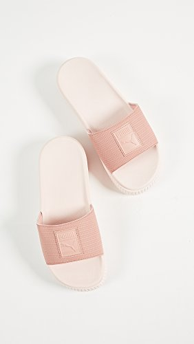 Peach 5 M Beige Women's PUMA Platform Slides Pearl EP B US 7 7nOgI
