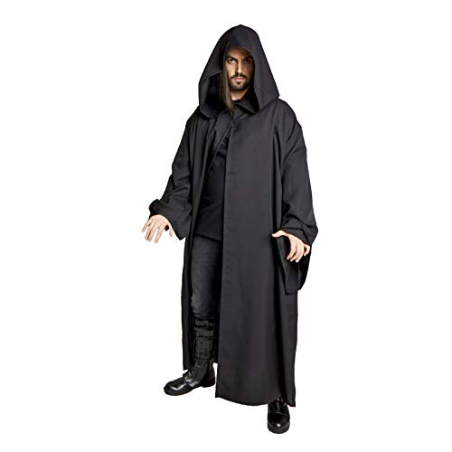 Largemouth Men's Jedi Sith Robe Cloak Costume Brown Black (Small/Teen (48 -