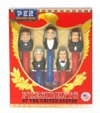 Presidents of the USA PEZ Candy Dispensers: Volume 2 - 1825-1845 by Pez Candy