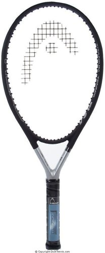 HEAD Ti S6 Tennis Racket Pre-Strung Head Heavy Balance 27.75 Inch Racquet - 4 1/4 In - Head Racket
