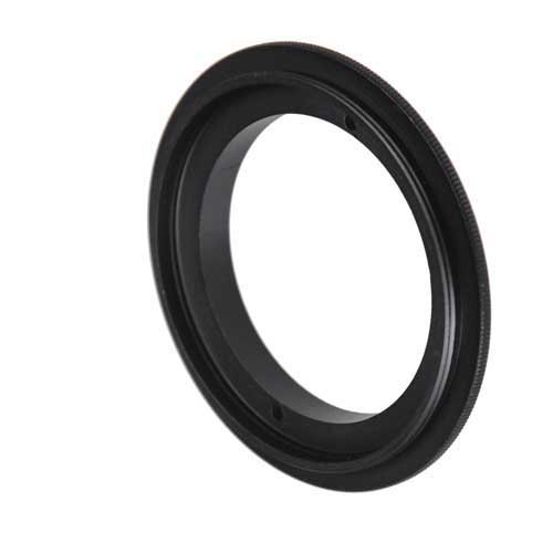 52MM Lens Cap and 52MM UV Protector Fits Nikon Fotodiox M-Reverse-58-Nikon-Kit RB2A 58MM Macro Reverse Ring Kit with G and DX Type Lens Aperture Control