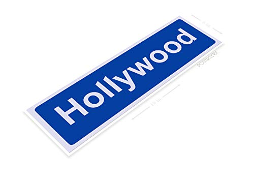 PosterGlobe Poster B881 Hollywood BLVD Street Sign for sale  Delivered anywhere in USA