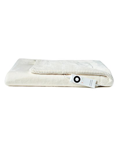 Berkshire Electric Throw Blanket with Intellisense - Cream -